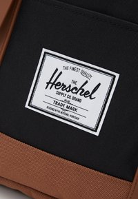 Herschel - RETREAT - Rucksack - black/saddle brown - 3