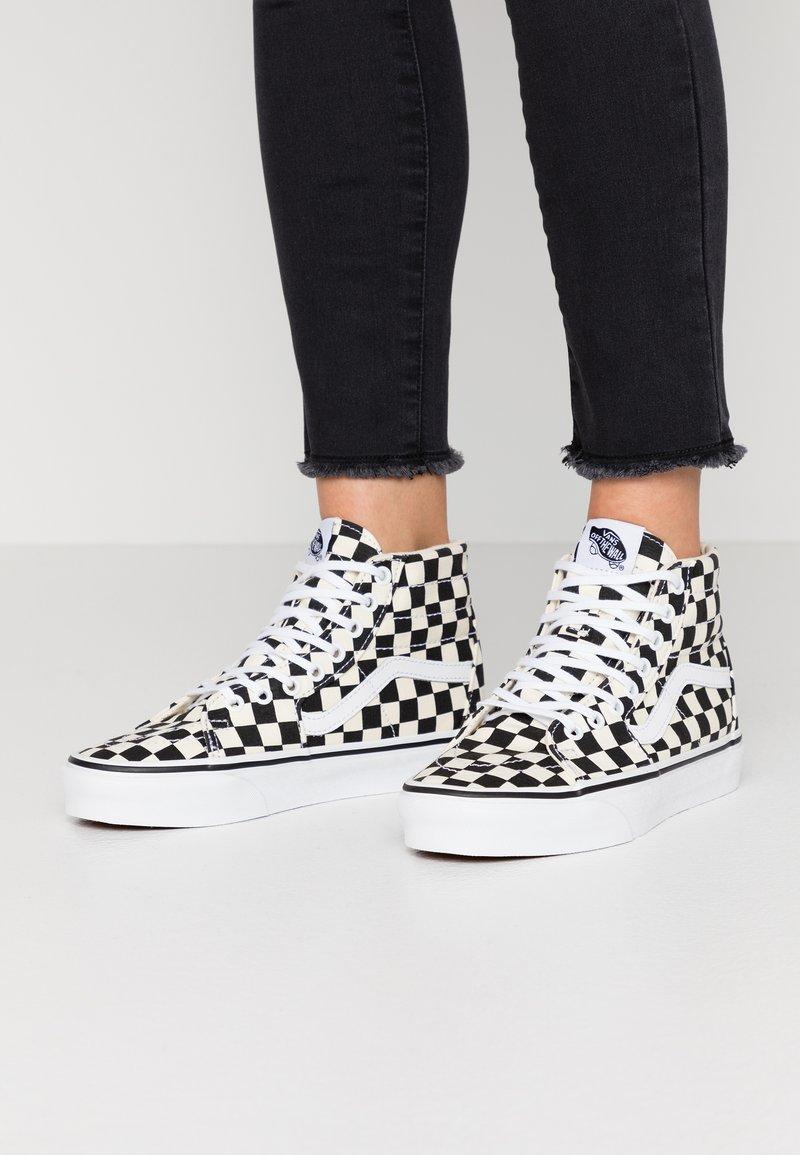Vans - SK8 TAPERED - Sneakers hoog - black/true white
