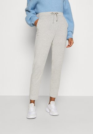 VILUNE  - Tracksuit bottoms - super light grey melange