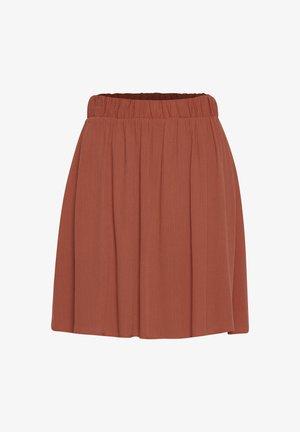 IHMARRAKECH - Pleated skirt - hot sauce