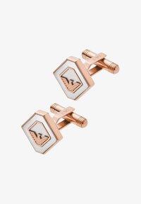 Emporio Armani - MEN JEWELRY HERITAGE - Cufflinks - silver - 0
