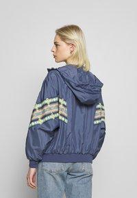 Urban Classics - LADIES INKA BATWING JACKET - Summer jacket - vintage blue - 2