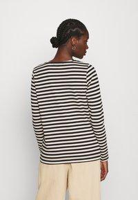 Carin Wester - NEVADA  - Bluzka z długim rękawem - black/white - 2