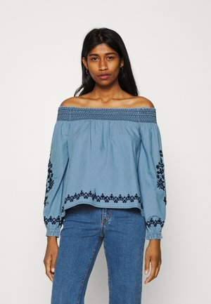 HADRIA - Blouse - denim