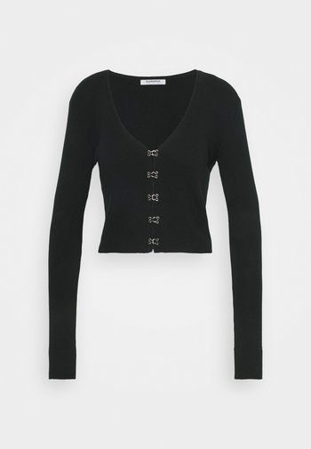 LONG SLEEVE CARDIGAN WITH FRONT FASTENING