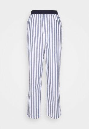Pyžamový spodní díl - chambray/white