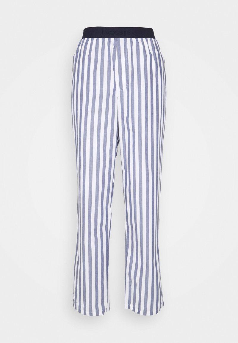 Lacoste - Pyjama bottoms - chambray/white