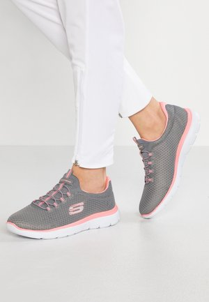 SUMMITS - Trainers - grey/pink