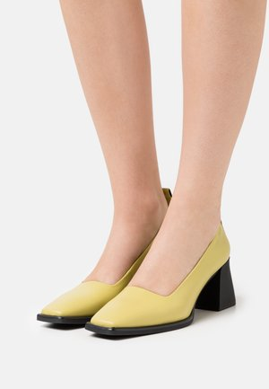 HEDDA - Classic heels - golden green