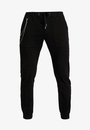 TOBY PANTS - Pantaloni - black