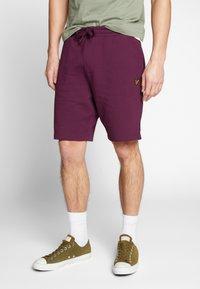 Lyle & Scott - Shorts - merlot - 0
