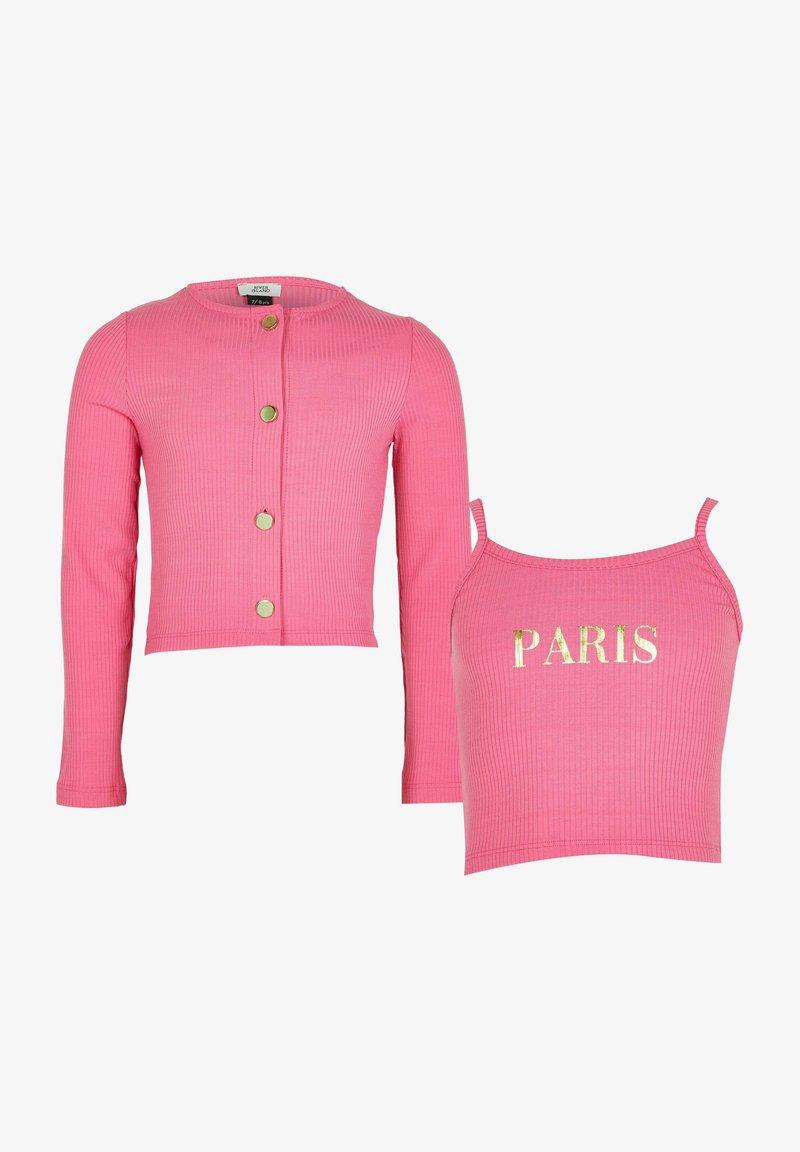 River Island - SET - Cardigan - pink