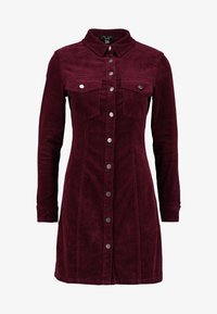 New Look Petite - BODYCON DRESS - Shirt dress - red - 5