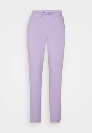 KARDI CUFF TROUSERS - Joggebukse - lilac purple medium dusty