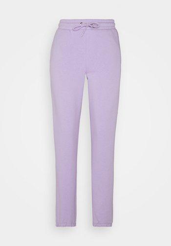 KARDI CUFF TROUSERS - Pantalon de survêtement - lilac purple medium dusty