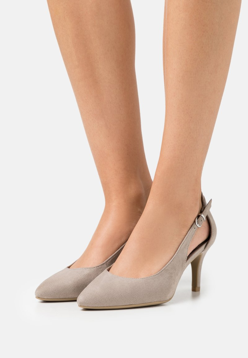 Marco Tozzi - Tacones - taupe