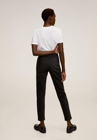 Mango - NEWMOM - Jeansy Slim Fit - black denim - 2