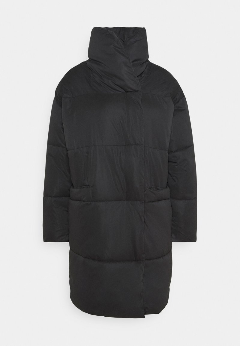 Monki - VALERIE JACKET - Winter coat - black dark
