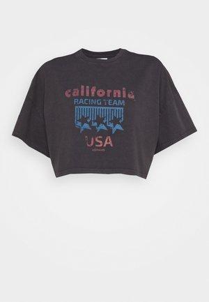 OVERSIZED VINTAGE - Print T-shirt - faded black