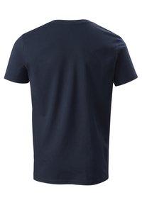 Phyne - THE V-NECK - T-shirt basique - navy - 3