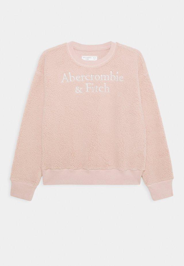 COZY LOGO CREW - Sweatshirt - pink