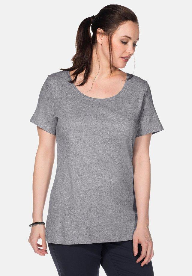 T-shirt basique - heather gray