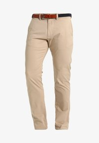 Selected Homme - SHHYARD SLIM FIT - Trousers - white pepper - 5