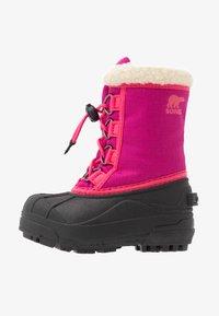 Sorel - YOUTH CUMBERLAND - Winter boots - deep blush - 1