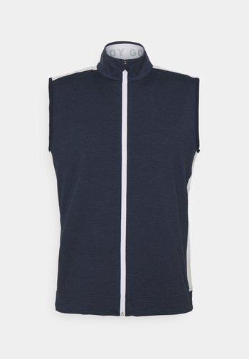 CLOUDSPUN VEST - Väst - navy blazer/heather bright white