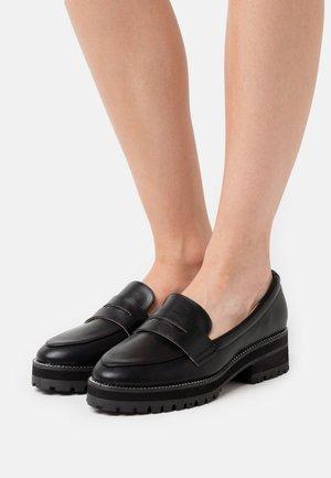 DONNA - Platform heels - black