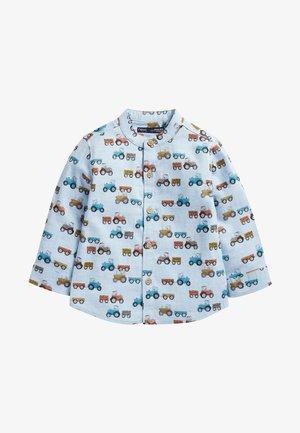 LONG SLEEVE - Camisa - blue