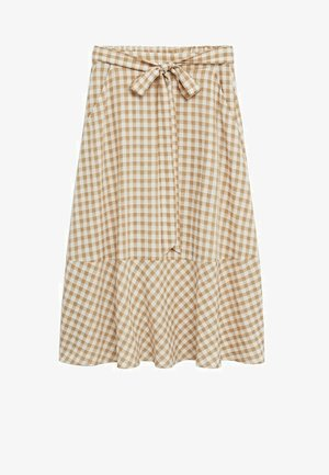 PICNIC - Maxi skirt - beige