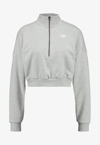 Nike Sportswear - Sweatshirt - grey heather/white - 3