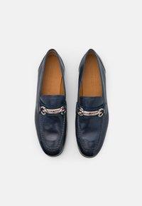 Melvin & Hamilton - CLIVE 16 - Elegantní nazouvací boty - navy - 3