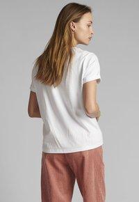 Nümph - Print T-shirt - bright white - 1