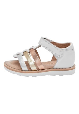 WHITE LEATHER FISHERMAN'S SANDALS (YOUNGER) - Outdoorsandalen - white