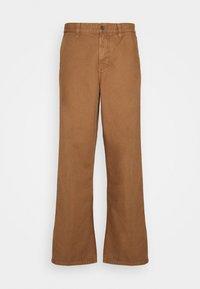 Nudie Jeans - LAZY LEO - Tygbyxor - cinnamon - 0