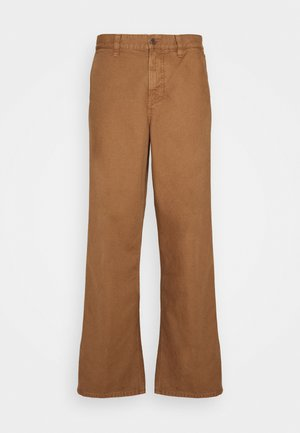 LAZY LEO - Trousers - cinnamon