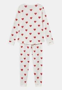Petit Bateau - HEART - Pyjama set - marshmallow/terkuit - 1