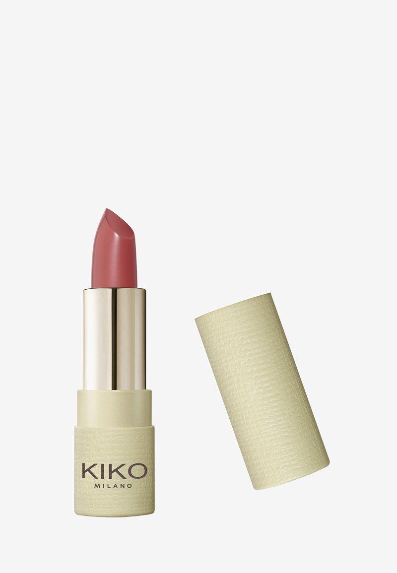 KIKO Milano - GREEN ME MATTE LIPSTICK - Lipstick - 102 essential mauve