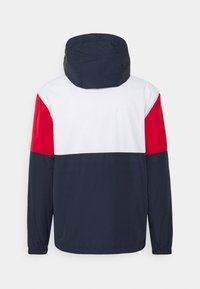 Tommy Jeans - COLORBLOCK UNISEX - Summer jacket - white/multi - 7