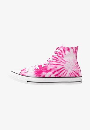 CHUCK TAYLOR ALL STAR - Sneakersy wysokie - cerise pink/game royal/white