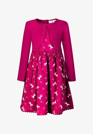 2IN1  - Day dress - berry