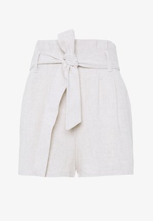 HIGH WAIST  - Shorts - beige