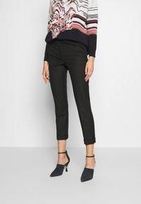 MAX&Co. - MONOPOLI - Spodnie materiałowe - black - 0