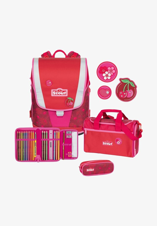 ULTRA SET 4 - School set - cherry red