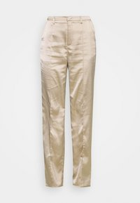 Missguided - STRAIGHT LEG TROUSER - Kalhoty - grey - 3