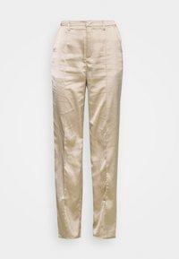 STRAIGHT LEG TROUSER - Trousers - grey