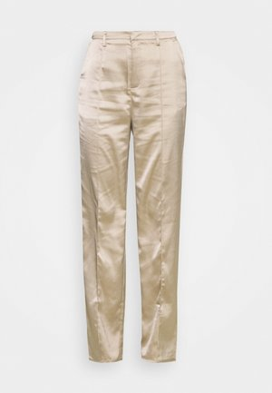 STRAIGHT LEG TROUSER - Trousers - grey