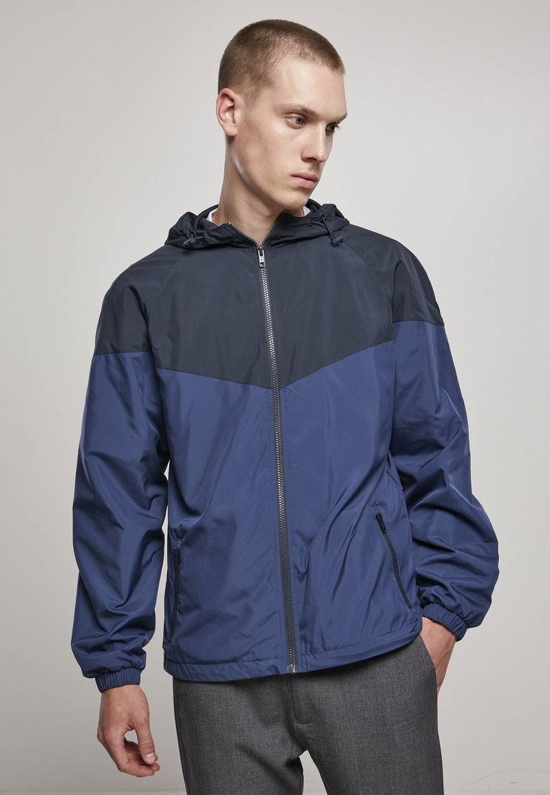 Urban Classics - TONE TECH - Windbreaker - dark blue